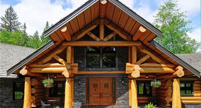 Grand Log Home – $2,999,999