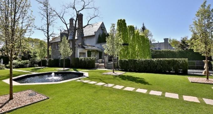 Majestic Stone Mansion – $18,000,000