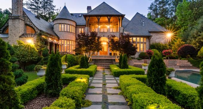 Custom English Manor – $4,295,000
