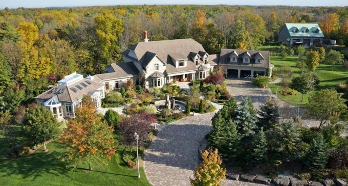 Country Estate In Halton Hills 6 700 000 Cad Pricey Pads