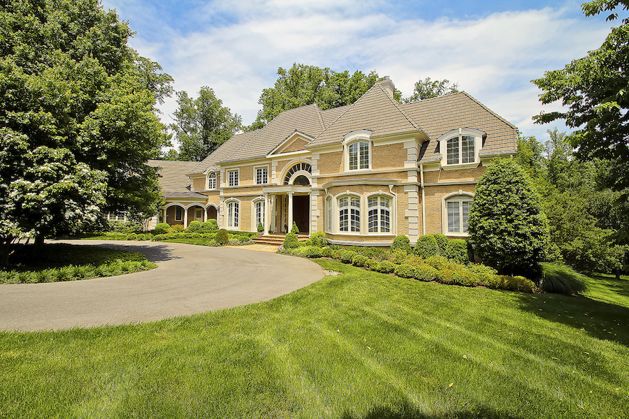 Elegant potomac home 4 395 000 south sound luxury homes for Elegant luxury homes