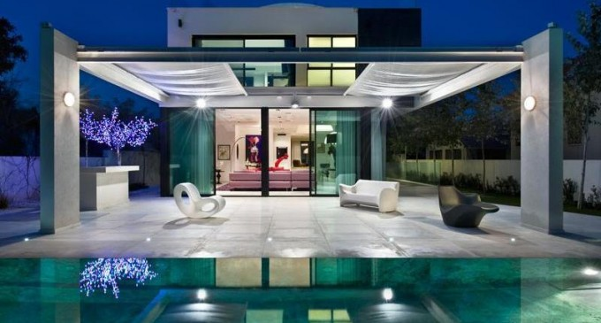 Ultra Modern Gated Villa – ₪ 35,000,000 ILS