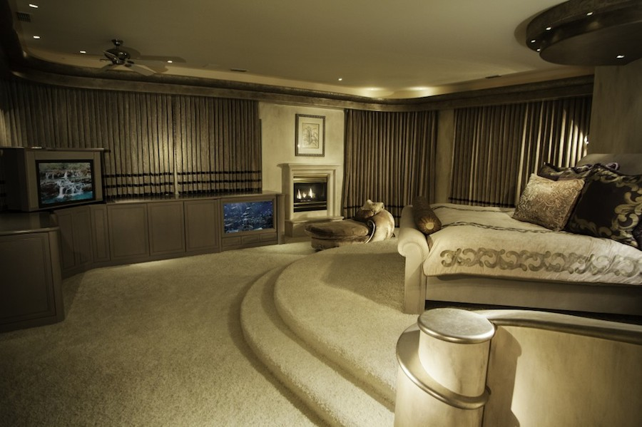 Granite bay mountaintop estate 12 000 000 pricey pads Master bedroom in a mansion