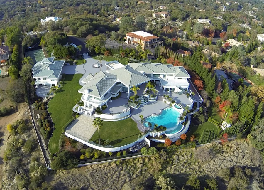 Granite Bay Mountaintop Estate 12 000 000 Pricey Pads