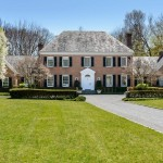 Impeccable Brick Georgian – $4,250,000