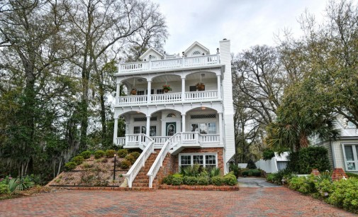 Charleston-Style Waterfront Home – $2,100,000