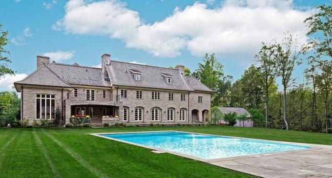 Impressive Fieldstone Manor House – $8,999,000