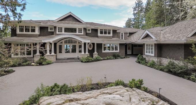 Spectacular Caulfeild Mansion – $10,500,000 CAD