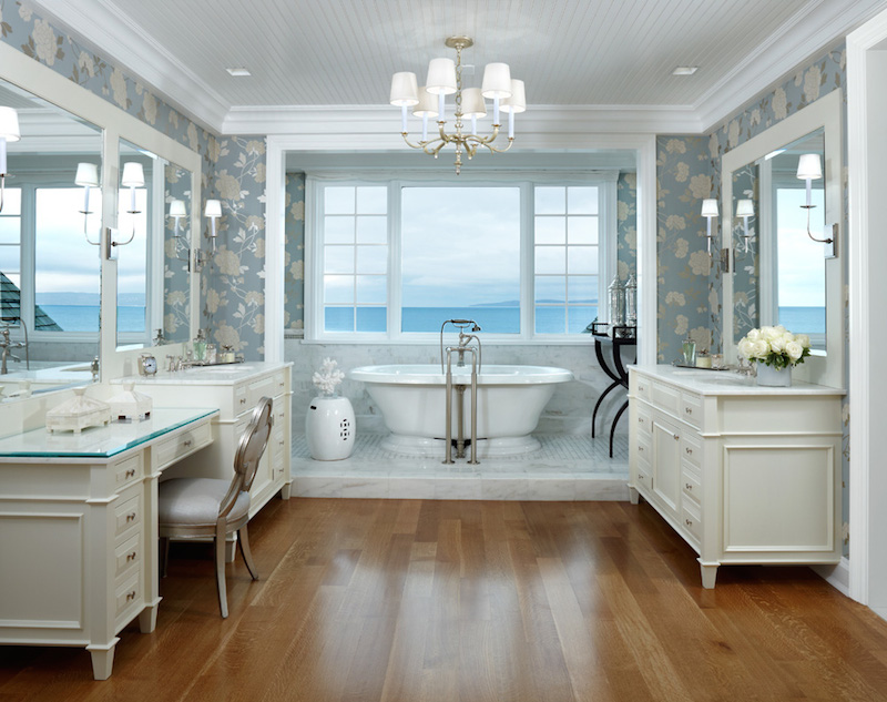Bay harbor masterpiece sells for 11 million at absolute for Master suite bathroom