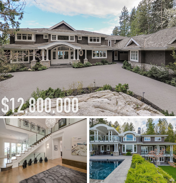 Top 10 Dream Homes For Sale in West Vancouver BC Pricey