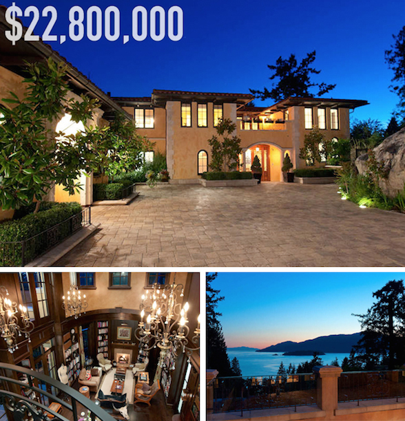 Top 10 Dream Homes For Sale In West Vancouver, BC
