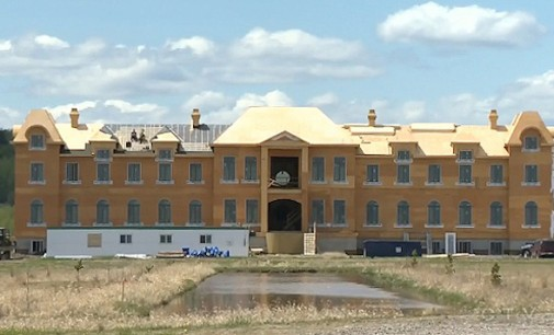 Palatial Château Being Constructed in Alberta