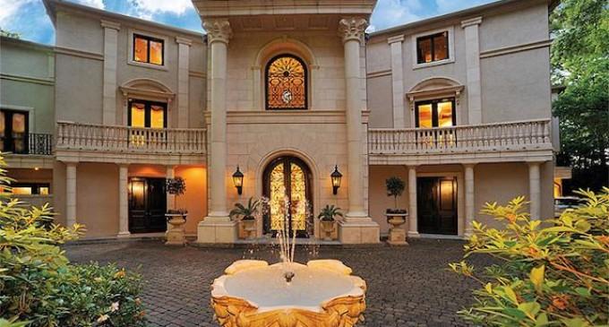 $20-Million Texas Mansion On Sale For $5.5-Million
