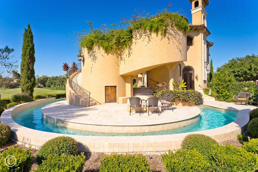 Exquisite italian renaissance 6 999 880 pricey pads for House built around pool