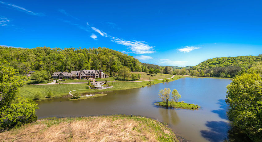 Nature paradise 19 900 000 pricey pads for Stillhouse hollow lake cabins