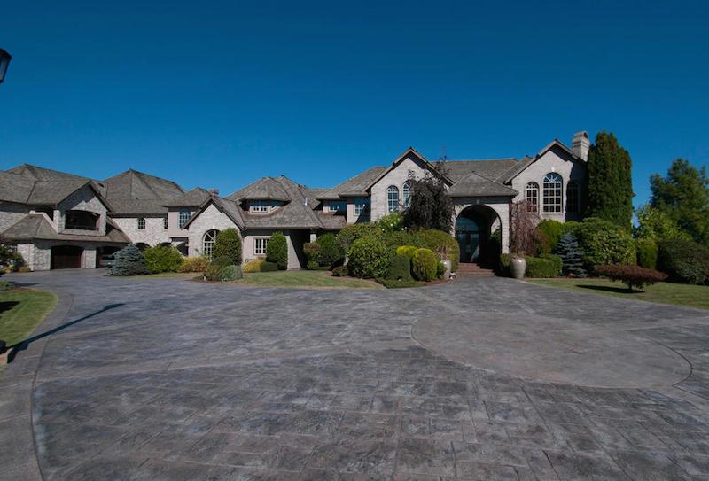 Nickelback's Chad Kroeger Lists Palatial Abbotsford Mansion