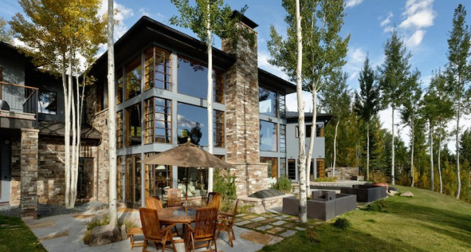 Contemporary Aspen Mountain Home – $14,900,000