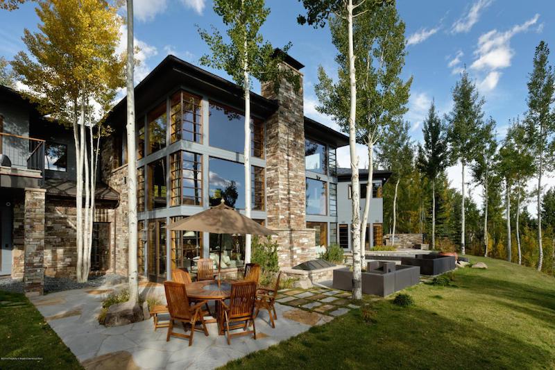 Contemporary Aspen Mountain Home – $14,900,000