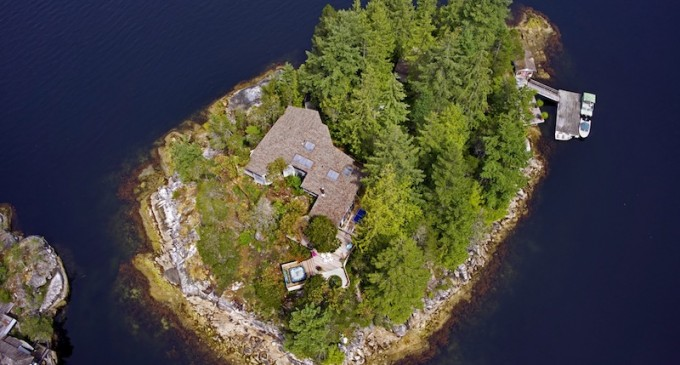 Private Island in B.C. Lists for $3.999 Million