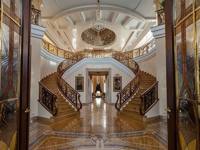 Sprawling 27,000 Sq. Ft. Russian Mansion Lists for $80 ...