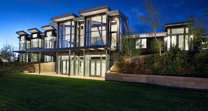 Contemporary Mountain Estate – $15,500,000