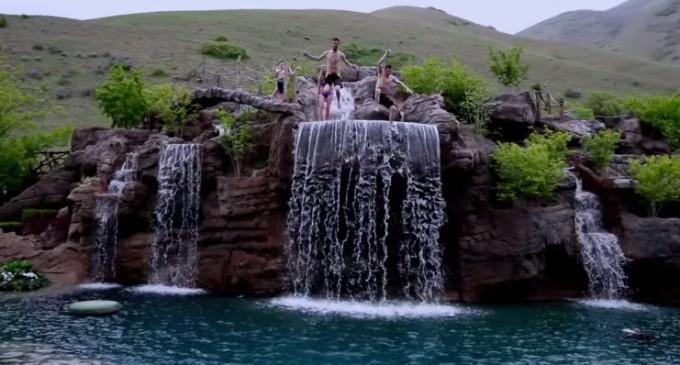 $2-Million Dollar Swimming Pool (VIDEO)