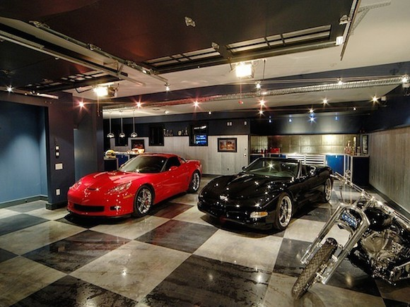 Private Park Garage : Spectacular private showroom garages pricey pads