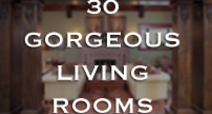30 gorgeous living rooms (slideshow) | pricey pads