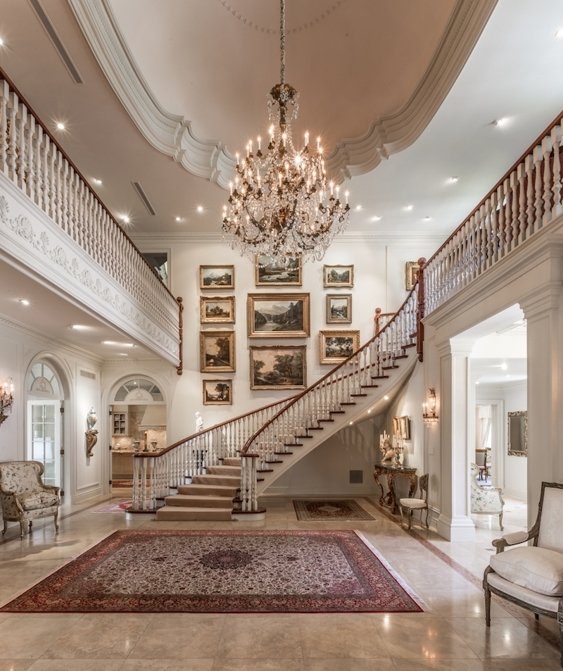 Mansion Foyer Designs : Landmark french ch teau cad pricey pads