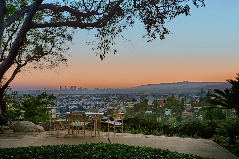 sunset view full