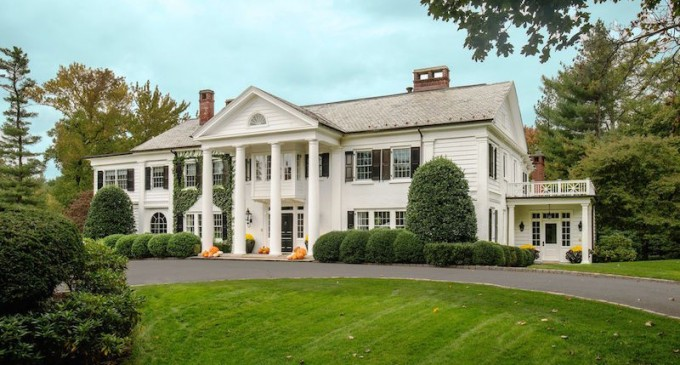 Georgian Colonial Mansion modernized georgian colonial – $10,950,000 | pricey pads