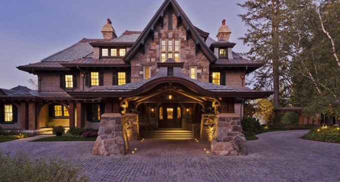 Upstate Manor by Meyer & Meyer Architecture and Interiors (PHOTOS)
