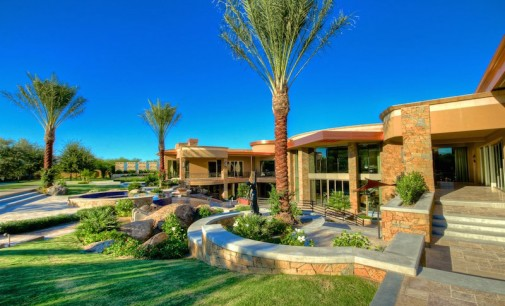 Gated Contemporary Estate – $24,000,000