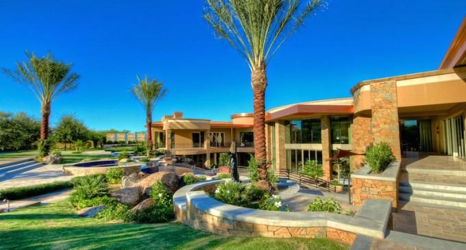 Gated Contemporary Estate – $24,000,000