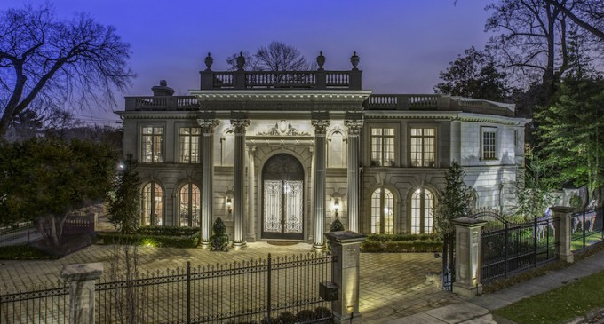 beaux arts style mansion 16 500 000 pricey pads rh priceypads com House Styles Architecture Architectural Styles