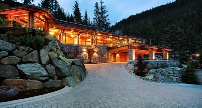 Whistler Dream Home – $9,999,999 CAD