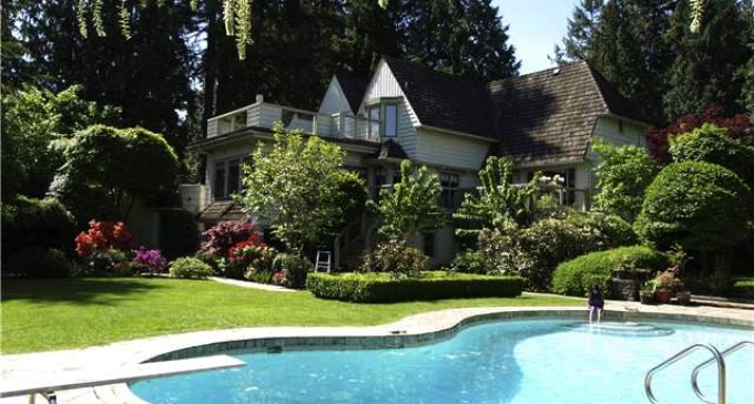 $10.89 Million Point Grey Home Re-lists for $15.8 Million