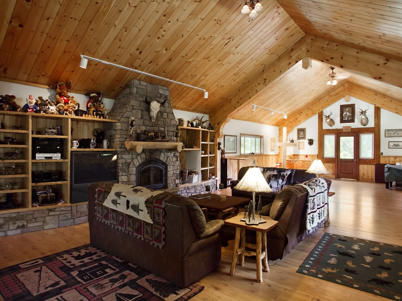 barn kitchen cabinets impeccable log home 8 900 000 pricey pads 10929