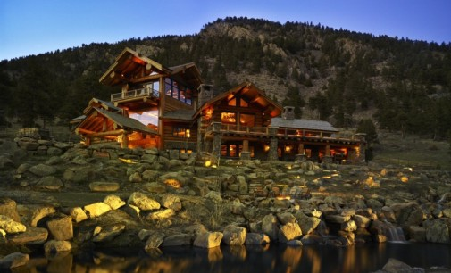 Impeccable Log Home – $8,900,000