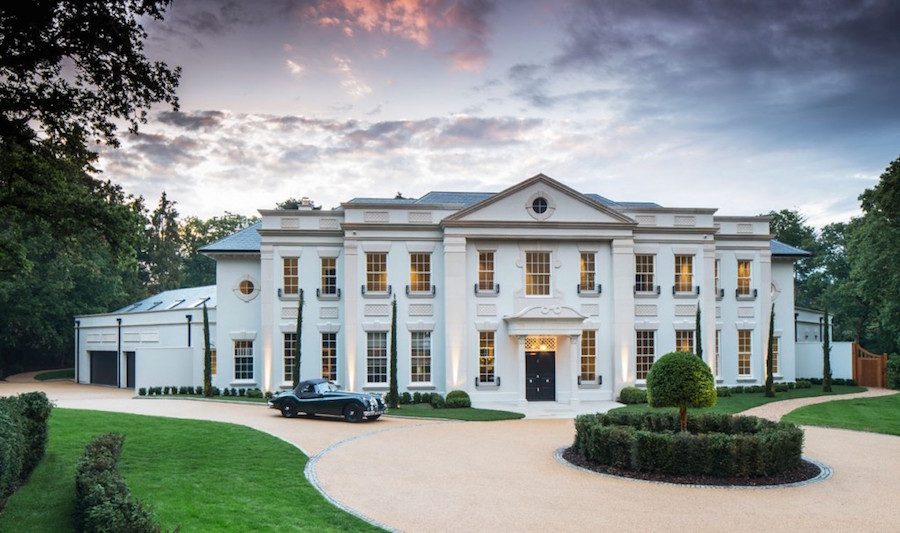 Neo palladian mansion 16 750 000 pricey pads for Palladian home designs