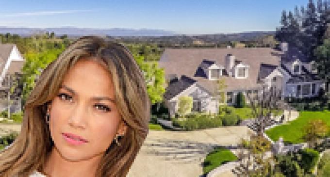 Jennifer Lopez Selling Lavish 17,000 Sq. Ft. Hidden Hills Home (PHOTOS)