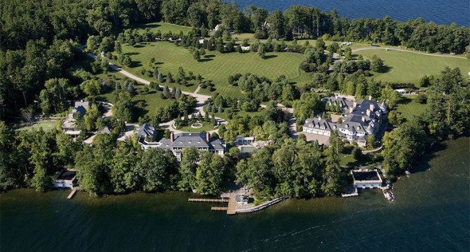 63,000 Square Foot Family Compound Lists for $49-Million (PHOTOS)