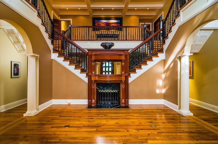 Grand Foyer In English : Acre tampa country club estate heading to absolute