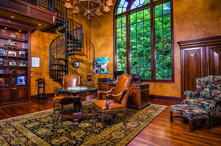 13-Two-story-Gentlemens-Library