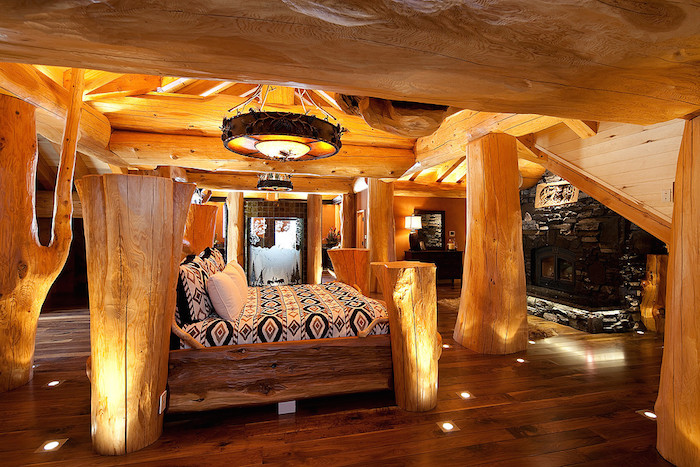 Timber Kings Log Mansion In Big White Yours For 6 8