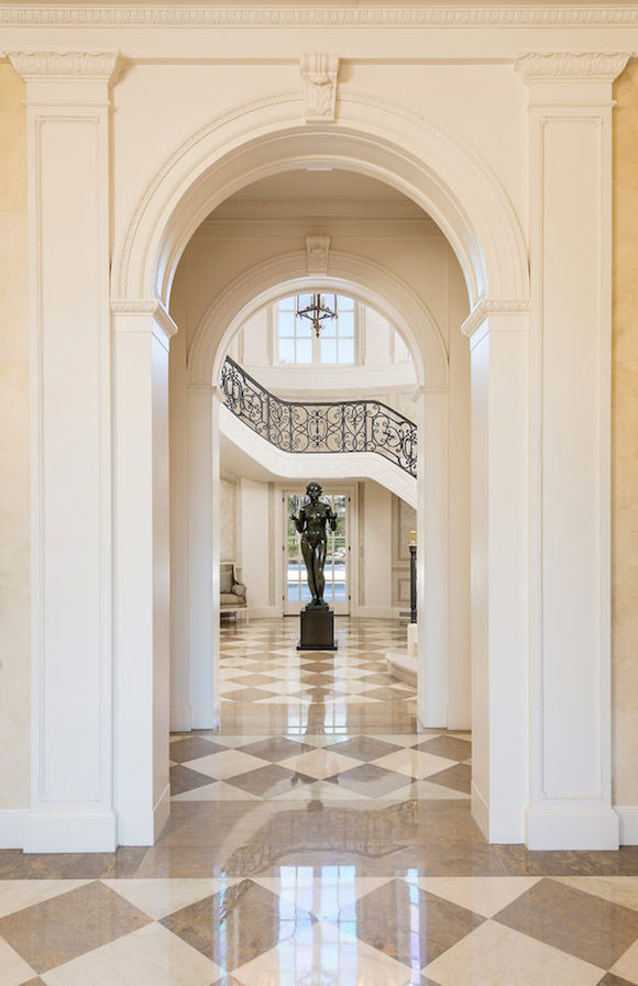 Main House- Entry to Grand Stairway