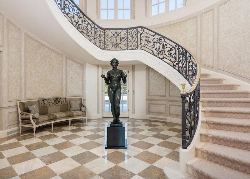Main House- Foyer and Grand Stairway