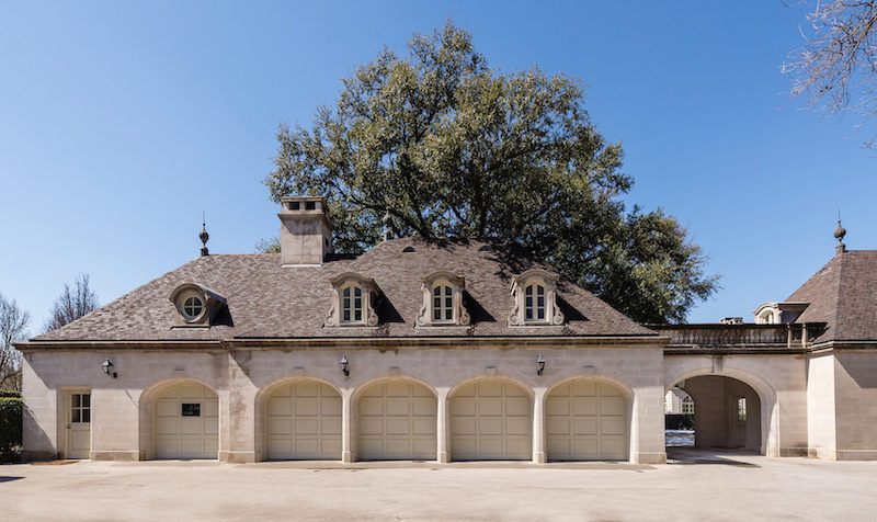 Main House- Garage (From West)