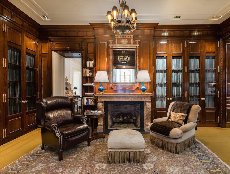 Main House- His Closet in Master Suite