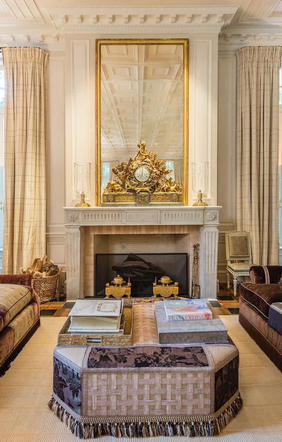 Main House- Living Room- Fireplace